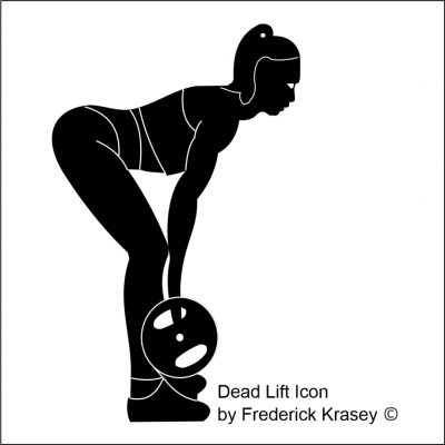 Dead Lift Icon By Frederick Krasey 2